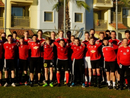 Trainingslager 2015-FC SGS industrial services ANDORF