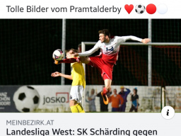 PRAMTALDERBY Herbst 19-FC SGS industrial services ANDORF